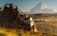 Five Monasteries around Mt.Kailash