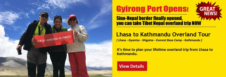 7 Days Lhasa to Kathmandu Group Tour
