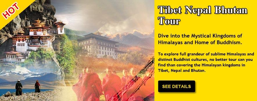 Tibet Nepal Bhutan Tour