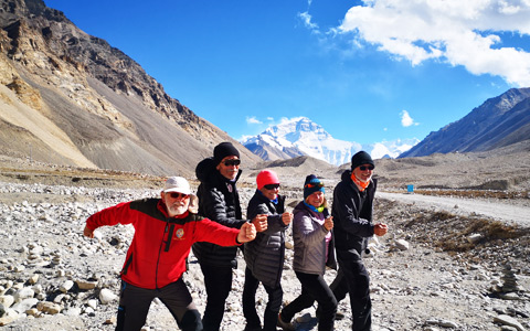 10 Days Beijing Lhasa Kathmandu Train Tour with Everest Base Camp