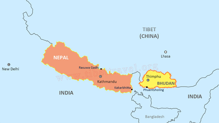 Map of Tibet and Bhutan Map Of Bhutan on map of chile, united states of america, map of india, map of peru, map of sri lanka, map of japan, map of nepal, map of myanmar, map of k2, jetsun pema, map of china, map of middle east, map of iraq, map of singapore, map of tibet, south asia, sri lanka, map of brunei, map of philippines, map of liechtenstein, map of bangladesh, map of turkey, map of himalayas, map of asia,