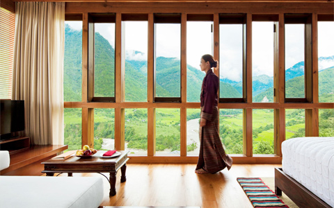 Top Luxury Hotels in Bhutan