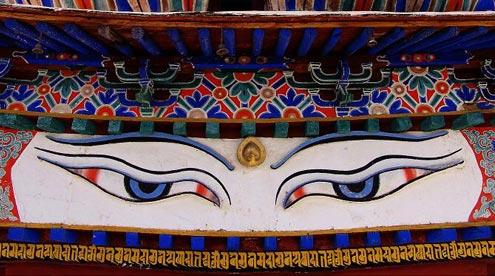 Eyes on Palkor Monastery (Kumbum)