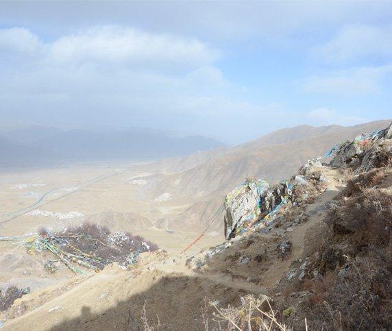 Ganden Monastery Hiking