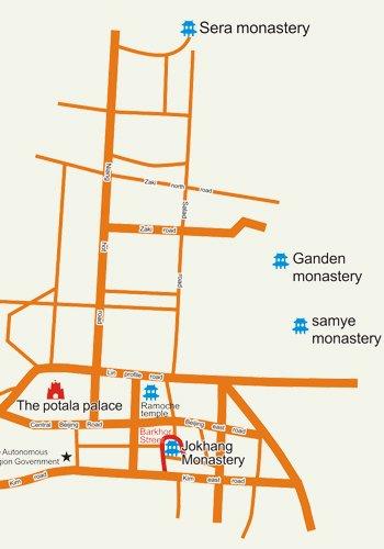 1 Day Ganden Monastery Tour