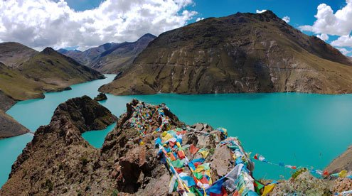 Manla Dam - The Biggest Dam in Tibet