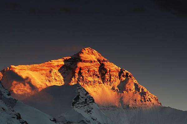 Sunset of Everest Peak