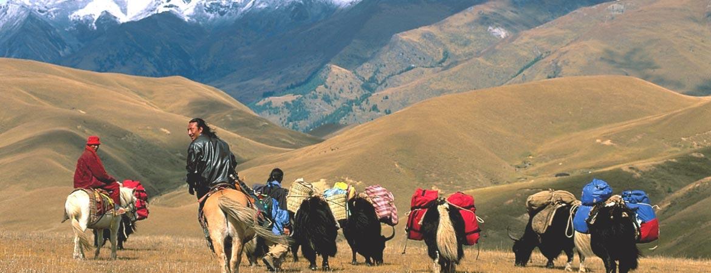 The nomad of Namtso Lake