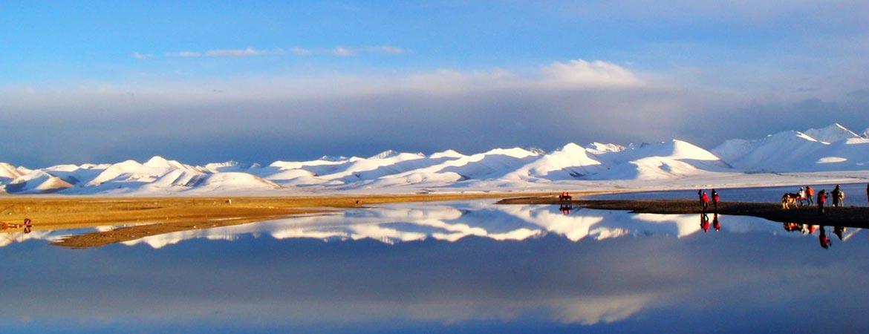 Beautiful view of Namtso Lake