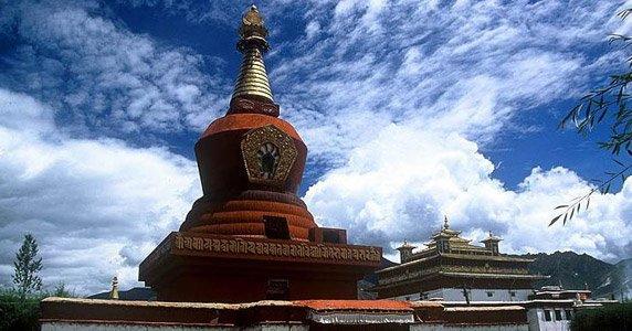Red Pagoda of Samye Monastery