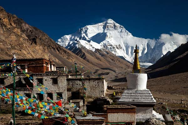 Rongbu Monastery at Mt.Everest