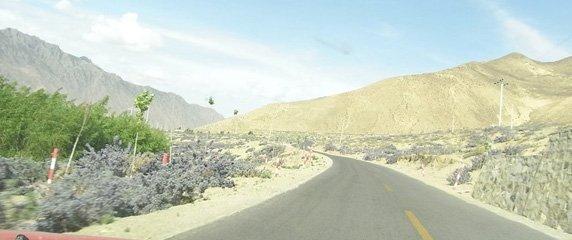 New Road to Samye Monastery
