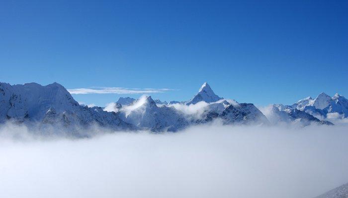 Everest in Rainy Season