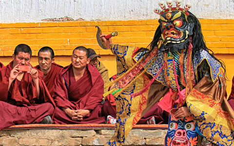 4-Day Lhasa City Tour in Saga Dawa Festival