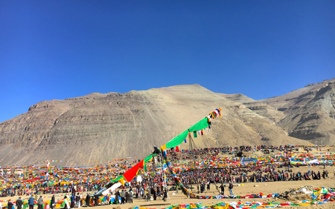 The Grandest Saga Dawa Festival at Sacred Mt. Kailash