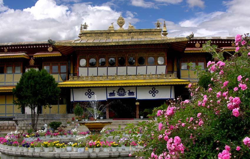 Norbulingka - the Summer Palace of  Dalai Lama