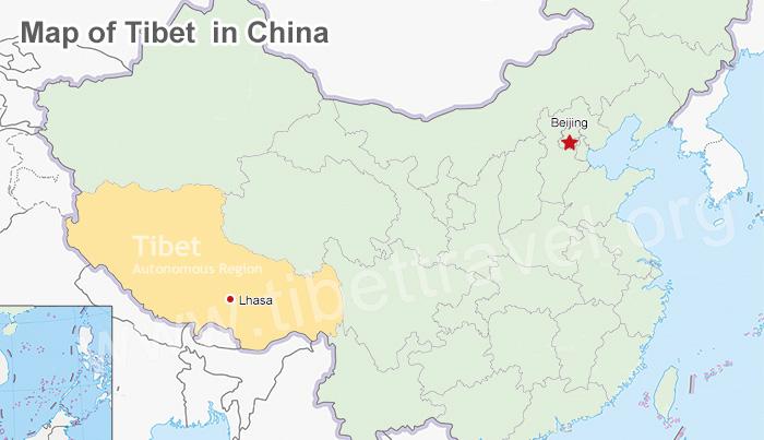 Lhasa Maps And Prefecture Lhasa Location Lhasa Tibet Map Lhasa
