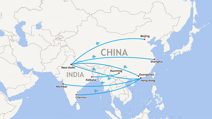 india to china train route map Nepal Map Map Of Nepal Nepal Tour Map Tibet Vista india to china train route map