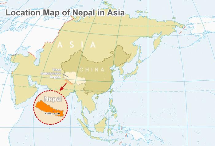 map of china and nepal Nepal Map Map Of Nepal Nepal Tour Map Tibet Vista map of china and nepal