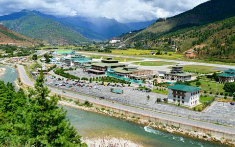 Flights from Nepal to Bhutan - Get to Paro from Kathmandu by Flight