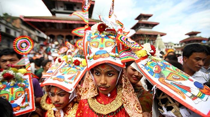 Gai Jatra, Gai Puja, Nepal Festival of Cows