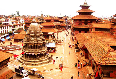 Kathmandu's Durbar Square is one of three durbar squares in the Kathmandu Valley.