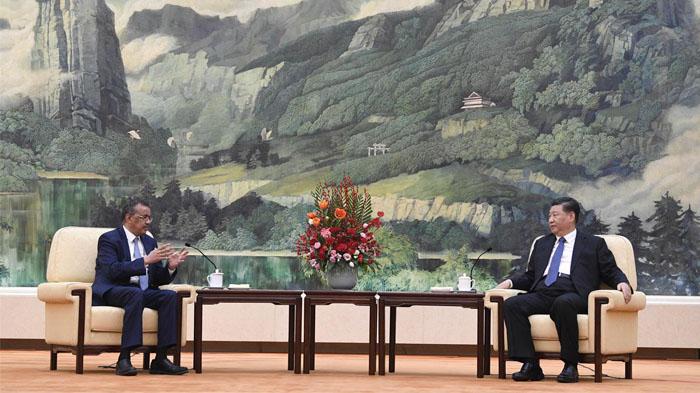 Director-General of WHO, met president Xi Jinping in Beijing this Jan