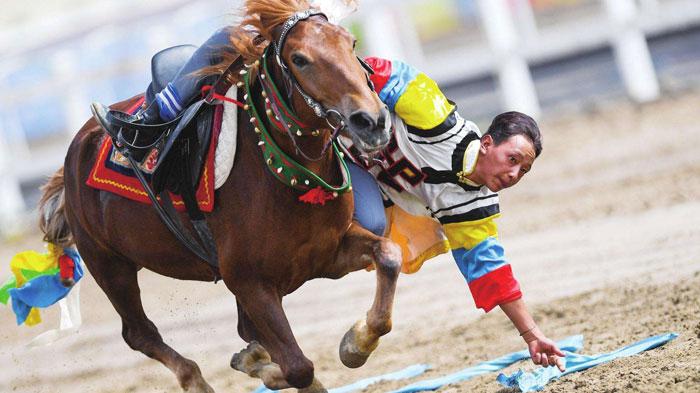 Shoton Festival Horse-racing