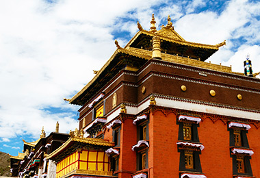 Tashilunpo Monastery, the home of Panchan Lama
