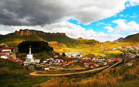 14 Days Drive from Chengdu to Gansu through Primitive Tibetan Area Tour