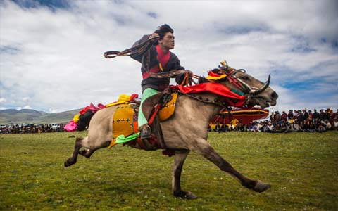 10 Days Litang Horse Racing Festival Tour