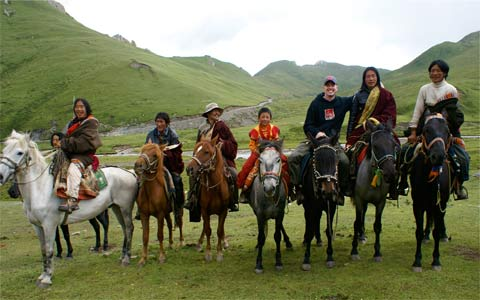5 Days Happy Road Horse-riding in Songpan Tour