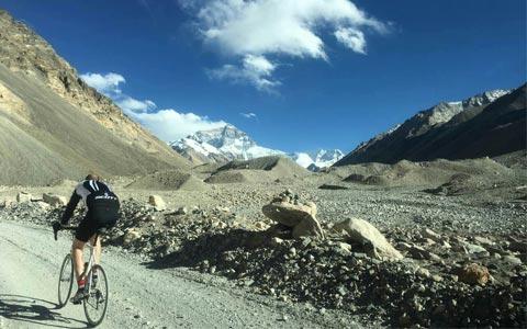 19 Days Tibet Biking Tour from Lhasa to Everest Base Camp