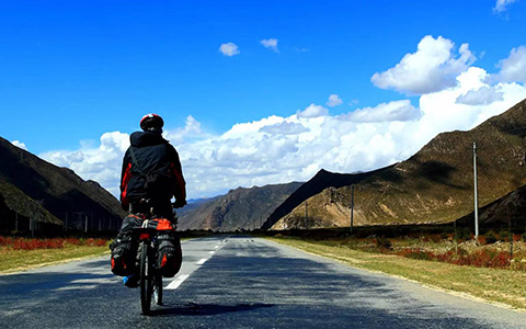 23 Days Cycling Tour from Chengdu via Sichuan Tibet Highway