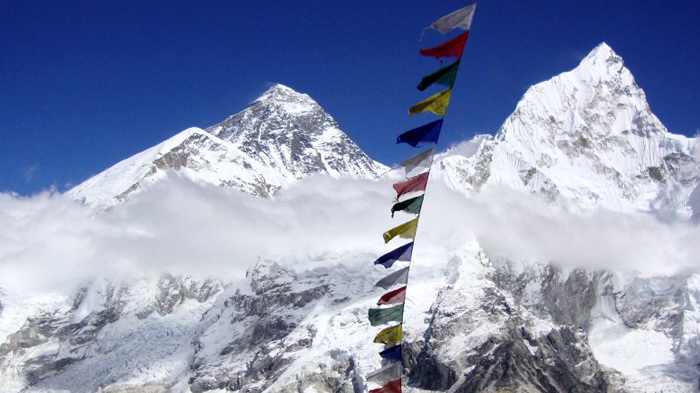 Everest view in Nepal Side