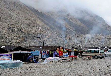Exterior of Tibetan Tent Guest House