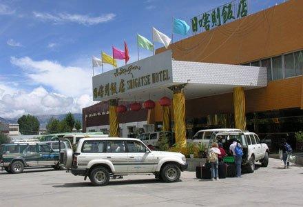 Facade of Shigatse Hotel