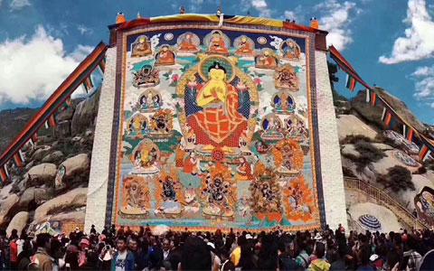 8 Days Lhasa to Kathmandu Tour in Shoton Festival