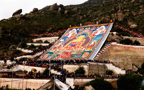 7 Days Lhasa to Shigatse Tour in Shoton Festival