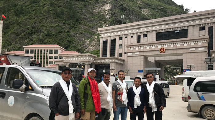 Our guide will meet you at Gyirong Border