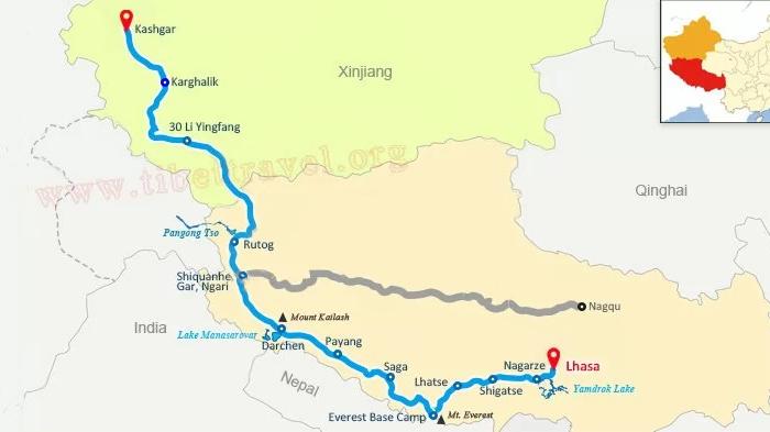 Xinjiang-Tibet Highway