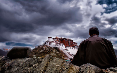 Best Places to Shoot Potala Palace in Lhasa