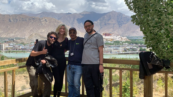 Joss and her team visited Lhasa with our Tibetan guide Namgyal.