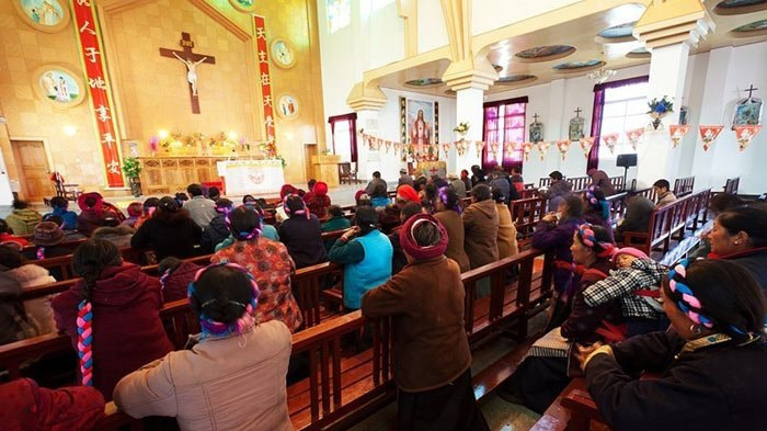 Celebrating Christmas in Tibet