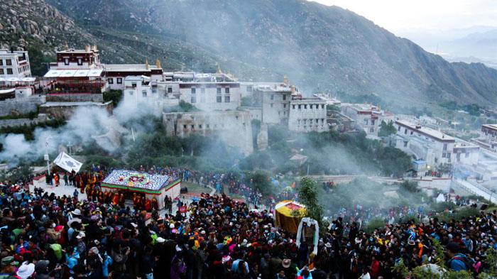Drepung Monastery Buddha Unfolding