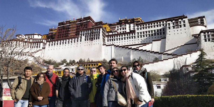 First Group in Lhasa in 2019