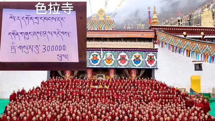 Donated from Sera Monastery