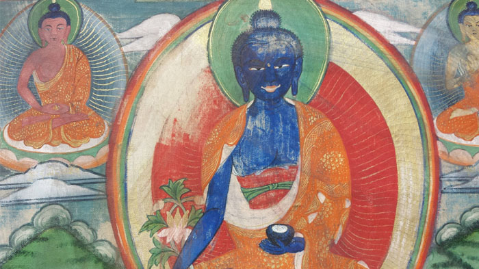 The kind-hearted medicine Buddha
