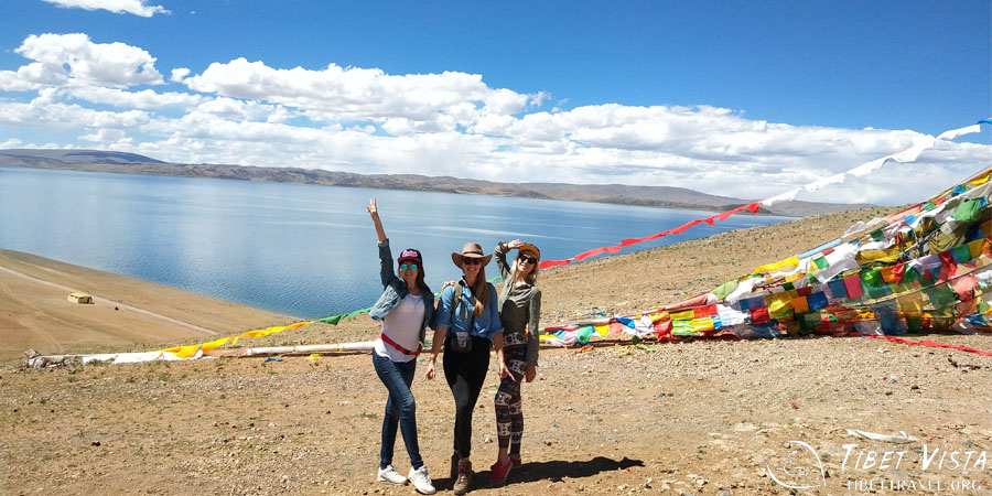 Our guests at Tashi Dor Island