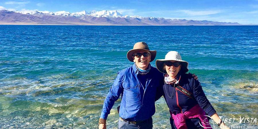 Our guests at Namtso Lake